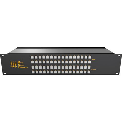 Matrix Switch 24 x 24 2RU 3G/HD/SD-SDI Video Router MSC-2HD2424L