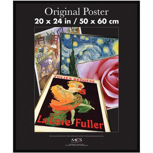 MCS Poster Frame with Strong Pressboard Backing Back 23054
