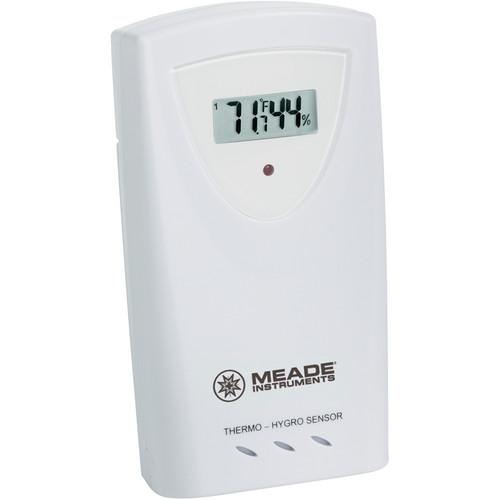 Meade Wireless Remote Temperature and Humidity Sensor TS33C-M