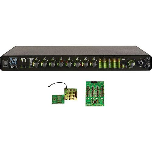Metric Halo LIO-8 Line-Level Digital Audio 000-50007-8P