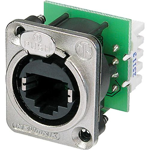 Neutrik EtherCON Series Panel Mount Receptacle NE8FDV-YK