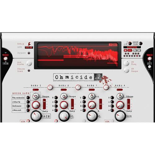 Ohm Force Ohmicide Multiband Distortion Software 11-31202