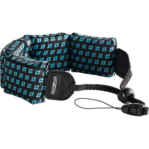 Olympus Floating Wrist Strap (Black/ Blue) 202588