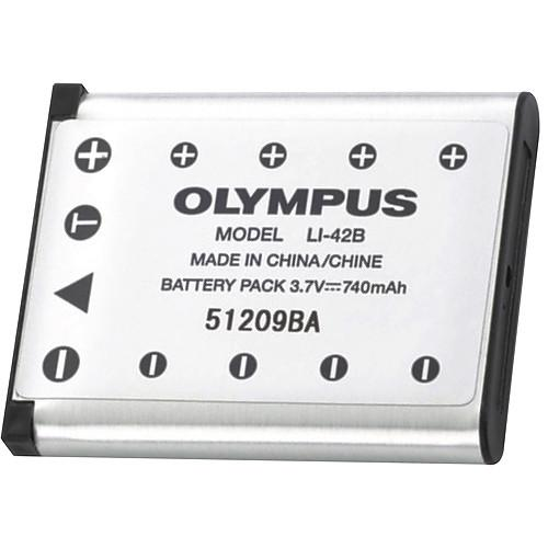 Olympus LI-42B Rechargeable Lithium-ion Battery V620058SU000