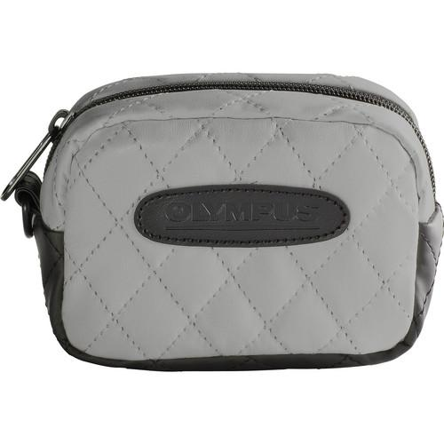 Olympus  Quilted SZ Camera Case (Gray) 202582