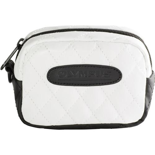 Olympus  Quilted SZ Camera Case (White) 202583