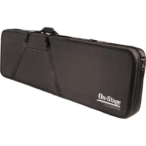 On-Stage GPCB5550 Polyfoam Bass Guitar Case (Black) GPCB5550