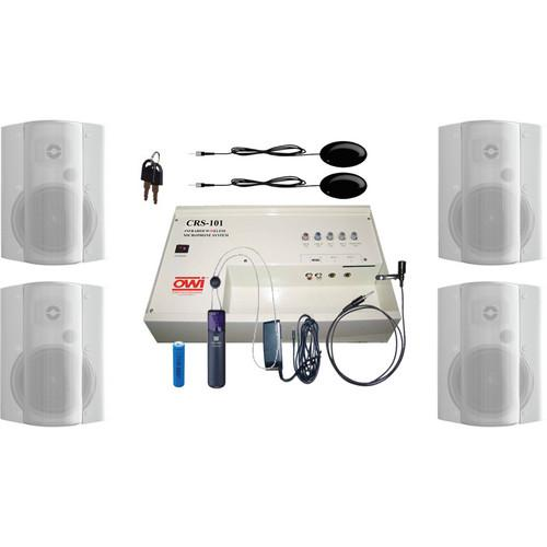 OWI Inc. CRS10162784W Speaker Package CRS10162784W
