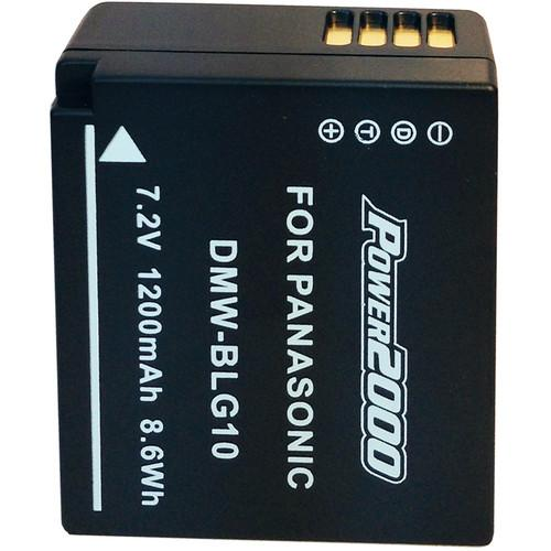 Power2000 DMW-BLG10 Lithium-Ion Battery Pack for Select ACD-419