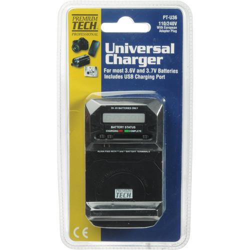 Power2000 PT-U36 Universal Charger for 3-4V Batteries PT-U36