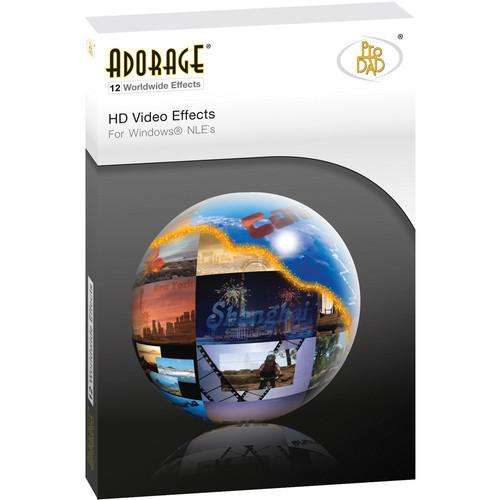proDAD Adorage Effects Package 12 - HD ADORAGE EFFECTS PKG 12