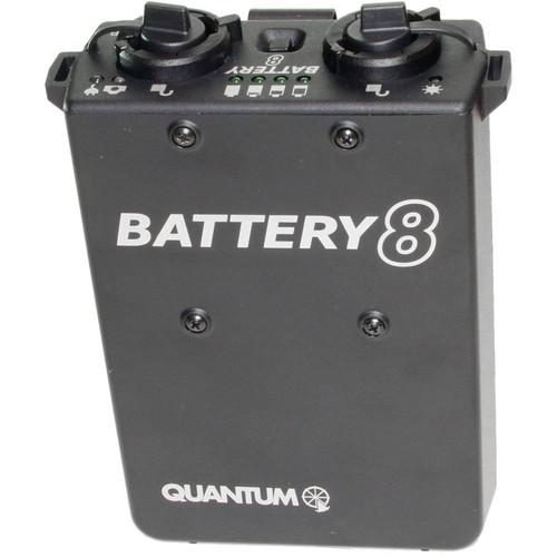 Quantum QB8 Rechargeable Battery for OMICRON 4 Video Light QB8
