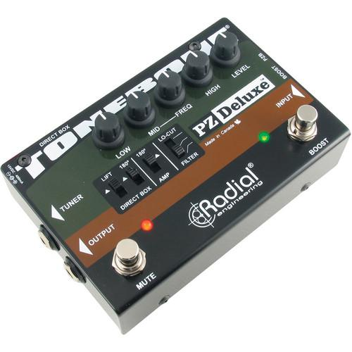 Radial Engineering PZ-Deluxe Acoustic Preamp R800 7320
