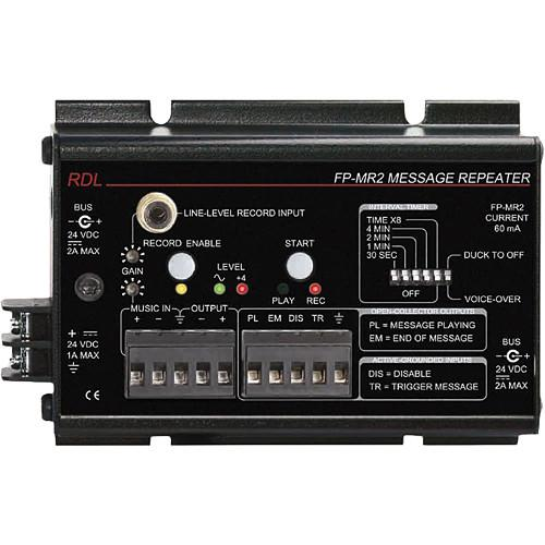 RDL  FP-MR2 Message Repeater FP-MR2