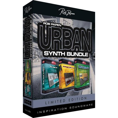 Rob Papen Urban Synth Bundle (Limited Edition) TSPAPEN120SN