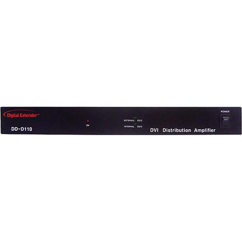 RTcom USA 1 x 10 DVI Distribution Amplifier DDD110N