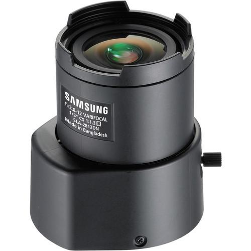 Samsung CS-Mount 2.8 to 12mm Varifocal Lens SLA-2812DN