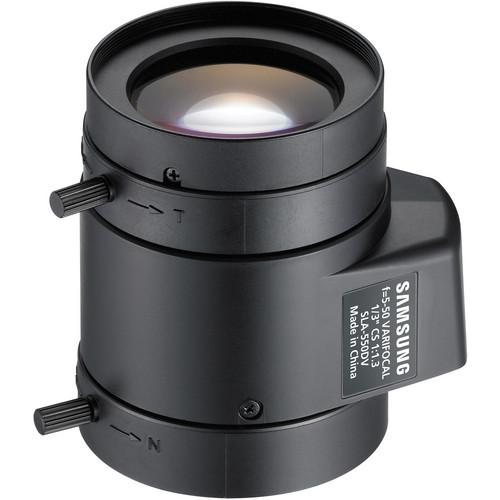 Samsung CS-Mount 5 to 50mm Varifocal Lens SLA-550DV