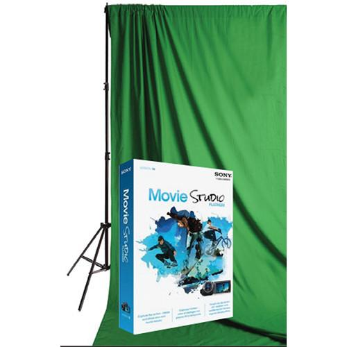 Savage Green Screen Premium Video Background Kit VID1024-PAS