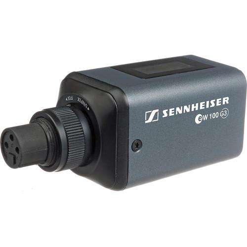 Sennheiser SKP 100 G3 Plug-on Transmitter with Protective Case