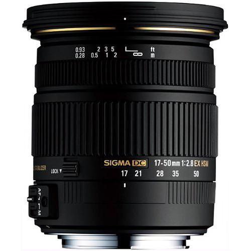 Sigma 17-50mm f/2.8 EX DC HSM Zoom Lens for Sony DSLRs