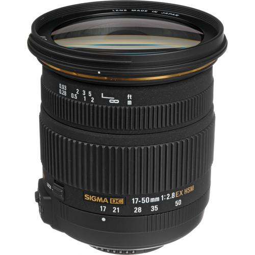 Sigma 17-50mm f/2.8 EX DC OS HSM Zoom Lens for Nikon DSLRs