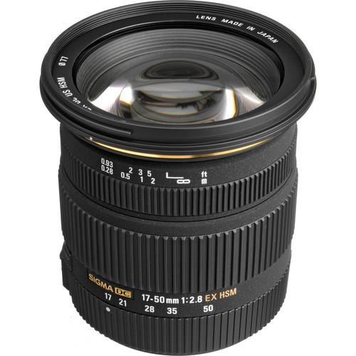 Sigma 17-50mm f/2.8 EX DC OS HSM Zoom Lens for Sigma DSLRs