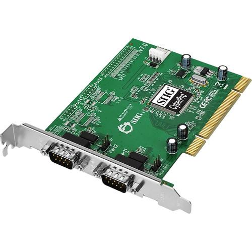 SIIG CyberSerial Dual Serial Port PCI Adapter JJ-P02012-S7