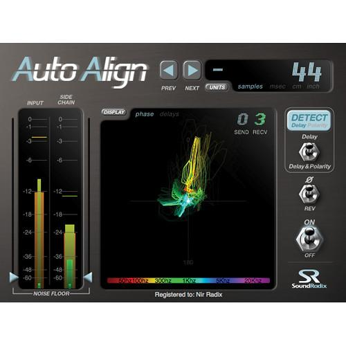Sound Radix Auto-Align - Time and Phase Alignment AUTO-ALIGN