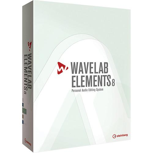 Steinberg Wavelab Elements 8 - Personal Audio Editing 502020164