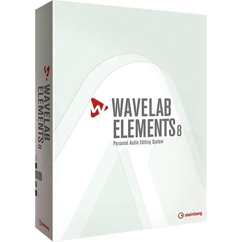 Steinberg Wavelab Elements 8 - Personal Audio Editing 502020165