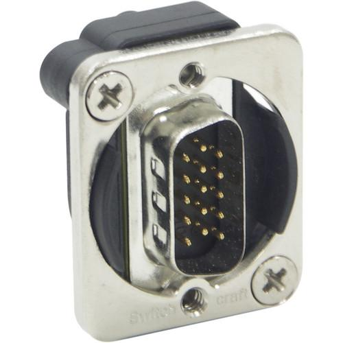 Switchcraft EH Series HD15 D-Sub Male to Male Connector EHHD15MM