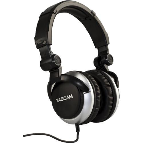 Tascam TH-2000 Professional Headphones (Silver) TH-2000-S