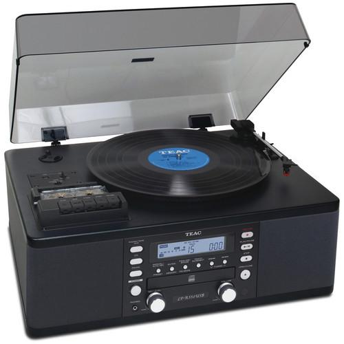 Teac LP-R550USB-B Turntable with CD Recorder, LPR-550USB-B