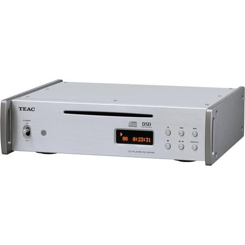 Teac PD-501HR-S DSD/PCM/CD Player (Silver) PD-501-S