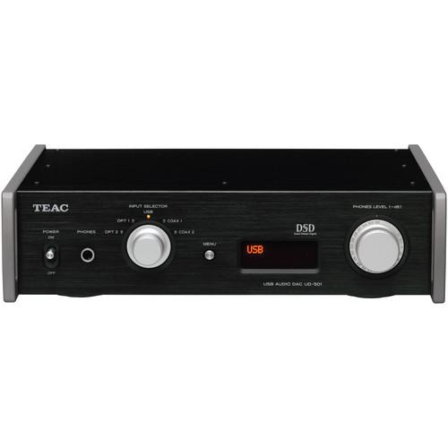 Teac UD-501-B Dual-Monaural D/A Converter with USB UD-501-B