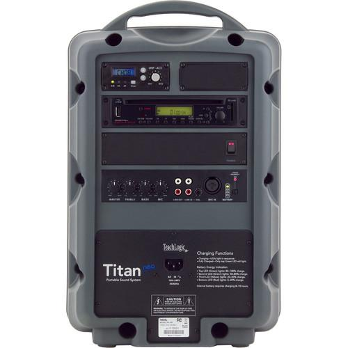 TeachLogic PA-809 Titan-Neo AC/Battery-Powered Portable PA-809