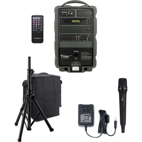 TeachLogic PA-825 Titan-Neo AC/Battery-Powered Handheld PA-825