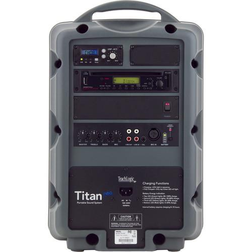 TeachLogic PA-850 Titan Neo Sound System with Wireless PA-850/H