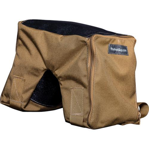 THE VEST GUY Bean Bag Camera Support - (Large, Coyote) 10305CL