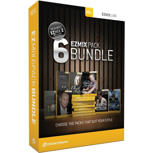 Toontrack EZmix 2 Pick Six Expansion Bundle TT024