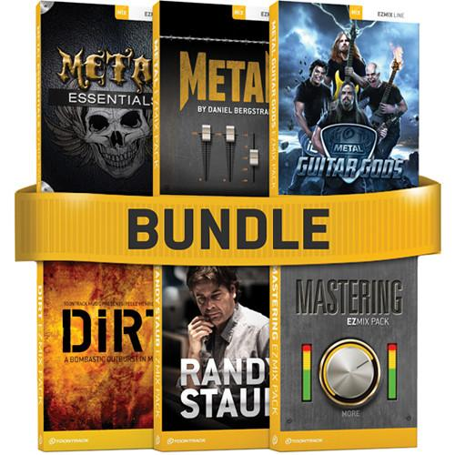 Toontrack EZmix Metal 6-Pack Software Bundle TT025SN