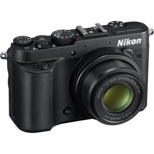 Used Nikon COOLPIX P7700 Digital Camera (Black) 26360B