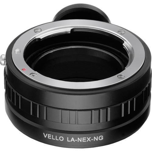 Vello Nikon G Lens to Sony E-Mount Camera Adapter LA-NEX-NG