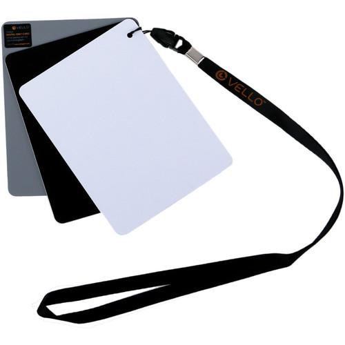 Vello White Balance Card Set for Digital Photography WB-CM