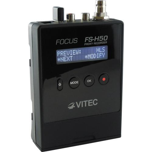 VITEC Focus FS-H50 Proxy Recorder with WiFi Adapter FSH50/VITEC