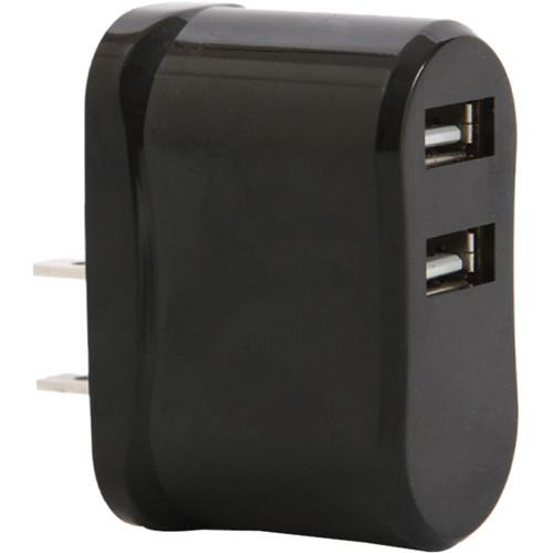 Vivitar High Speed USB Wall Charger (Black) VIV-AC-1A