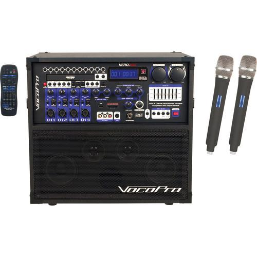 VocoPro HERO-REC 6 120W 4-Channel Multi-Format HERO-REC 6