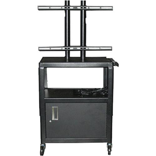 Vutec Adjustable Flat Panel Cart with Locking VFPCAB4226E