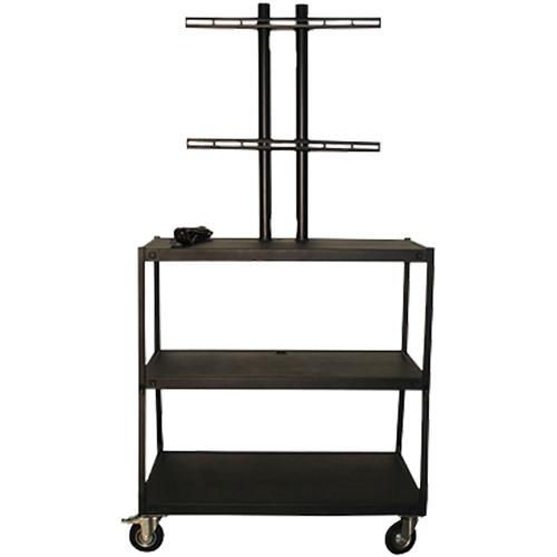 Vutec Wide Body Flat Panel Cart with Pyramid & VFPC4418E